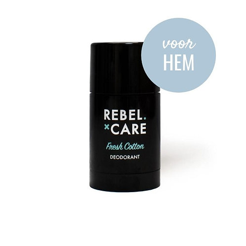 Deodorant Rebel Fresh Cotton – voor hem