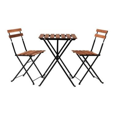 Bistro set, tafel met 4 stoeltjes