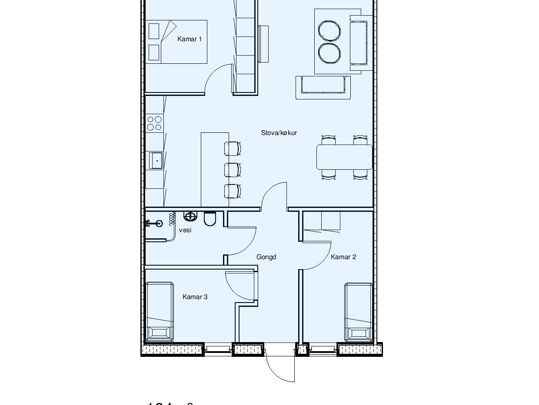 04 - innrætningur - Sheet - 104m² - 104m