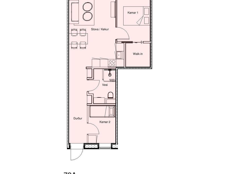 04 - innrætningur - Sheet - 72m² - 72m²