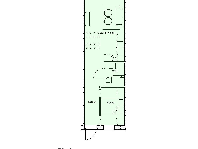 04 - innrætningur - Sheet - 52m² - 52m²