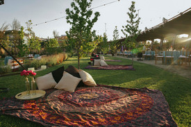 Lounge parque sunset