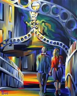 Dublin Nights, The Hal'penny Bridge A