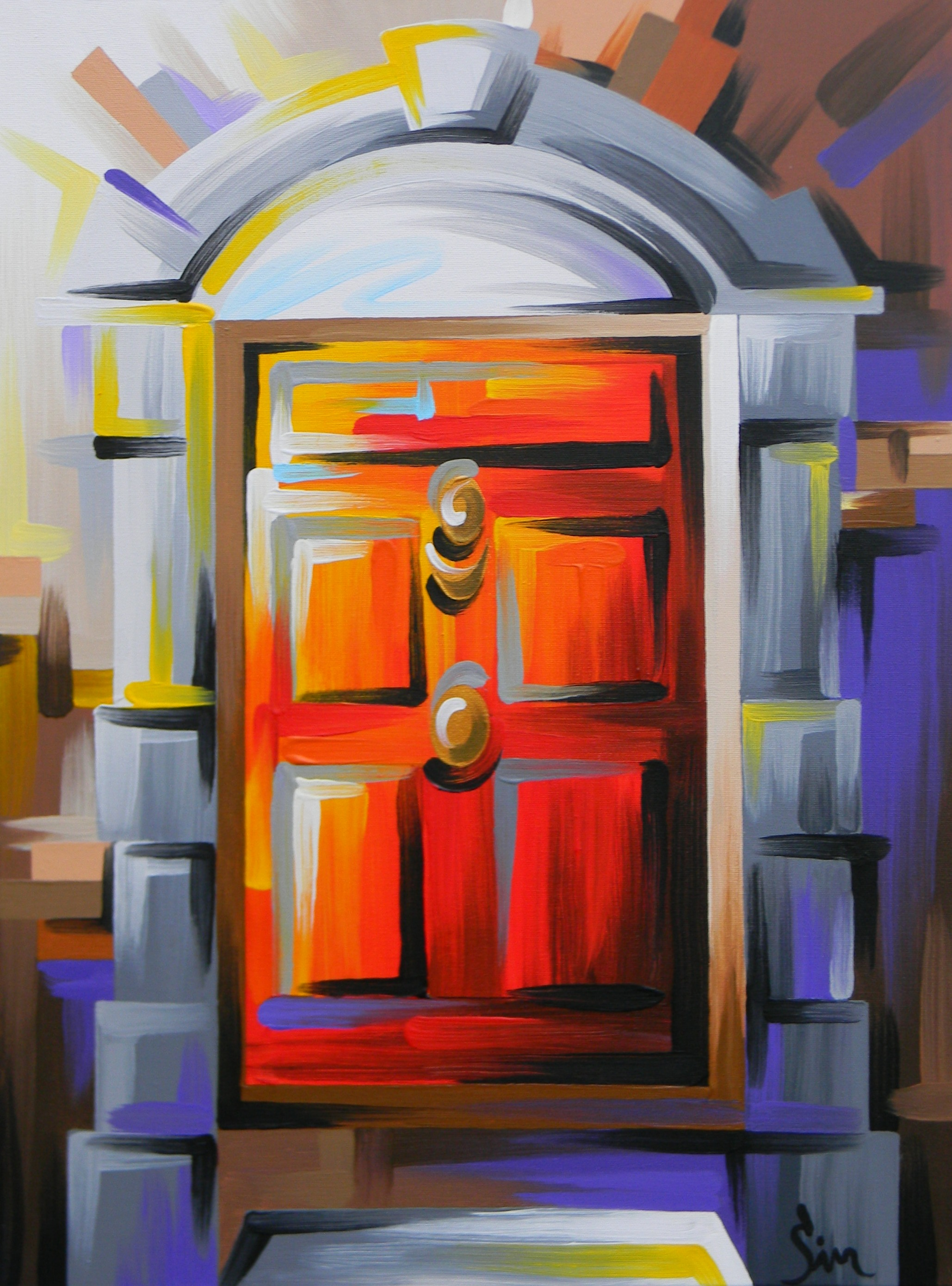 'Georgian Door'