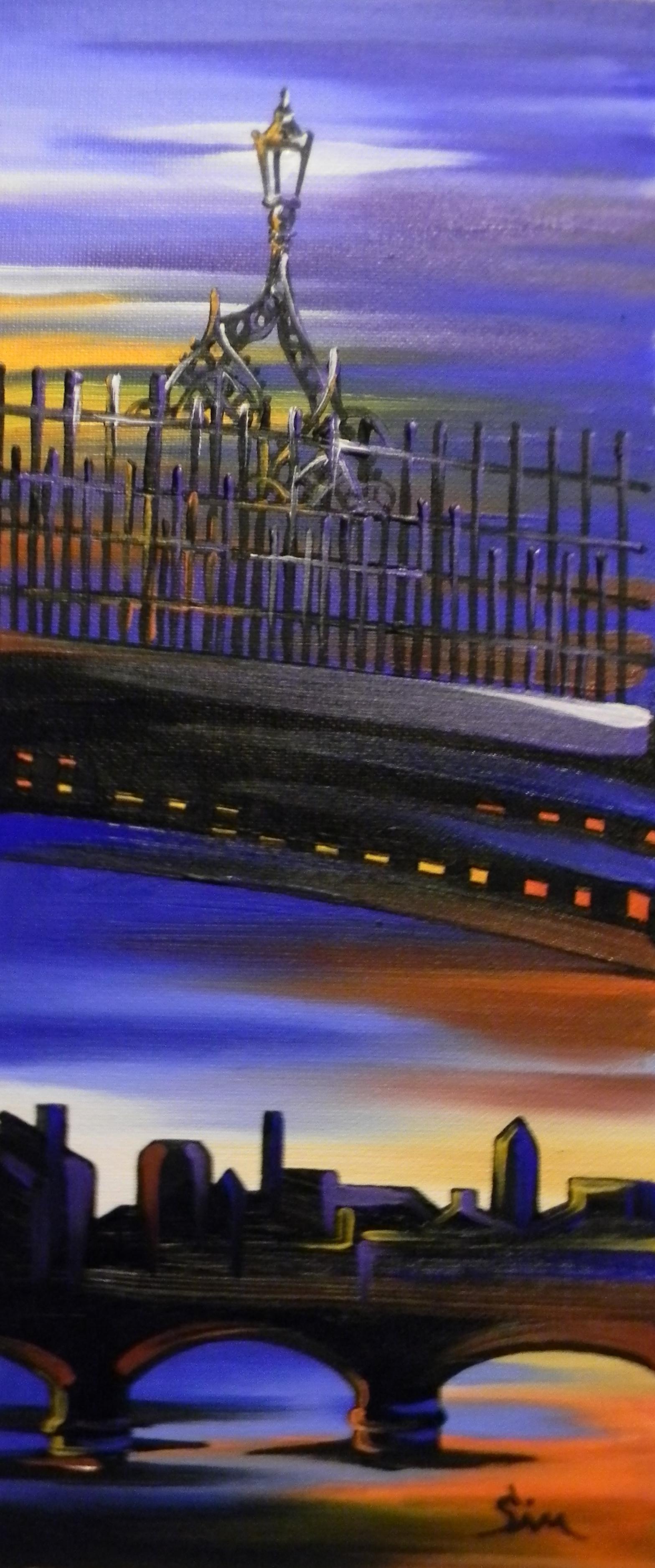 'The Hal'penny Bridge A'