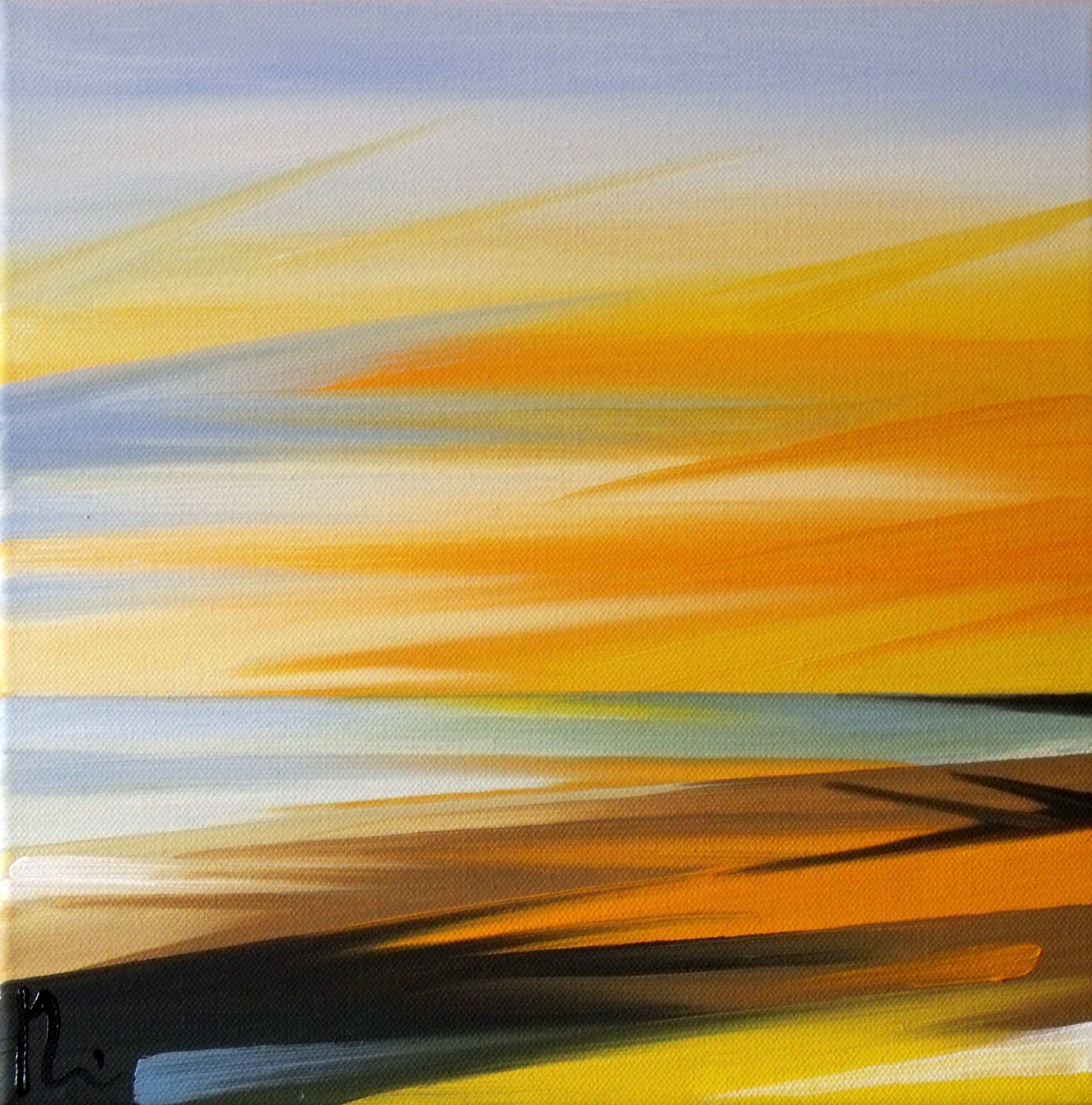 'Orange Sea-scape'