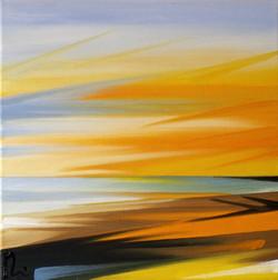 'Orange Sea-scape'