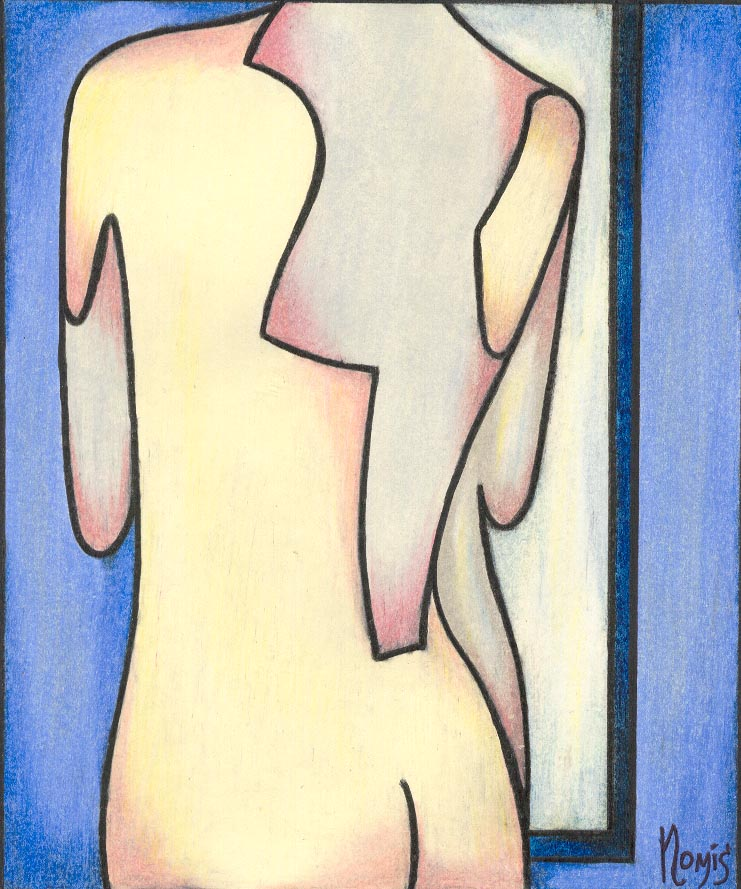 'Contemplative Nude 2'