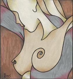 'Metallic Nude 5'