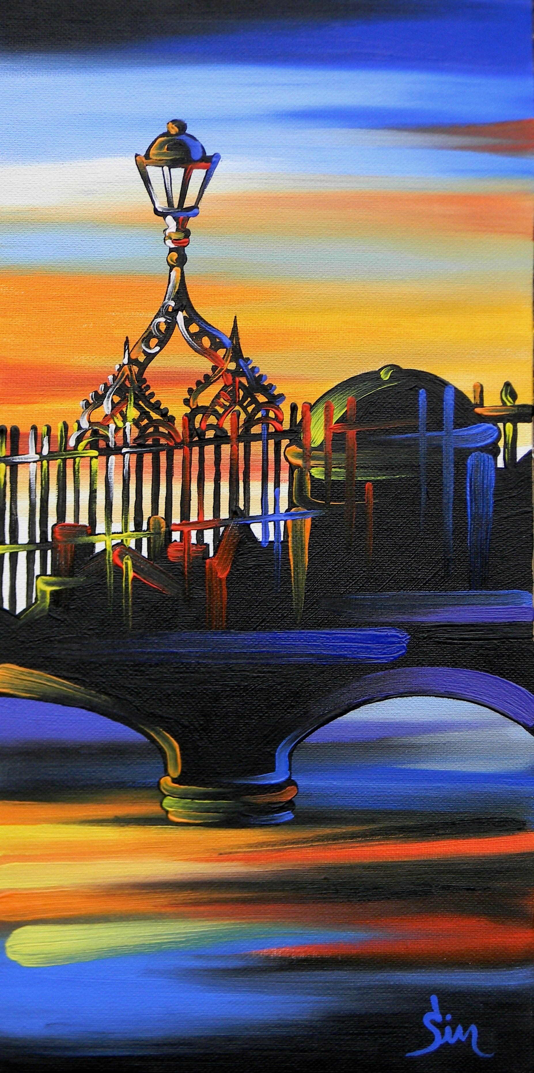 'The Hal'penny Bridge C'