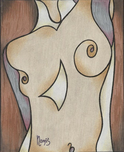 'Metallic Nude 1'