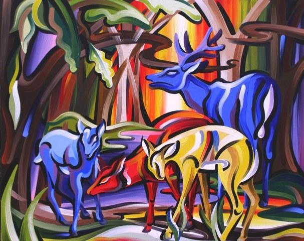 Deer in Glade