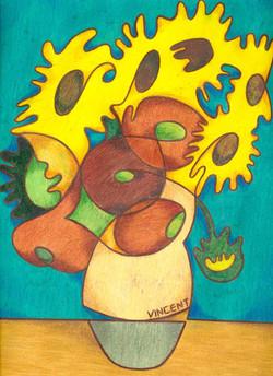 'Van Goghs' Sunflowers'