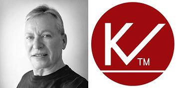 006.6 - Knud + KV Logo 8 x 4 cm - 300 dp