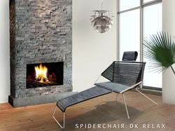 004.5 - Spiderchair Relax i rum m. logo