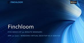 WEBINAR: Introducing Finchloom's Windows Virtual Desktop as a Service