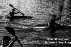Commitment and interest in kayaking