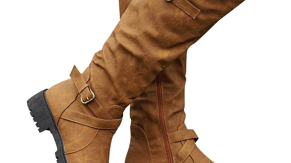 Womens Calf High Boots