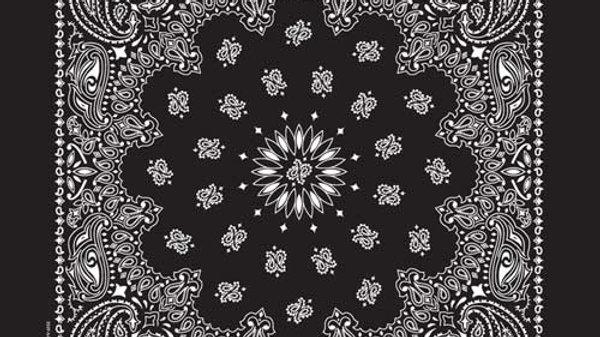 Bandana Paisley Black