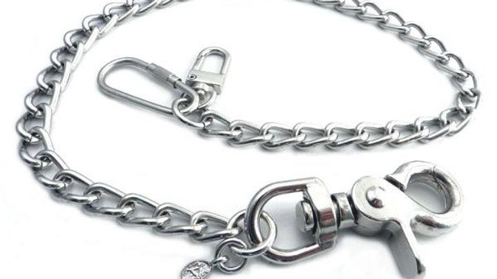 """Splicer Chrome Wallet Chain 16"""""""