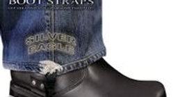Boot Straps - Silver Eagle