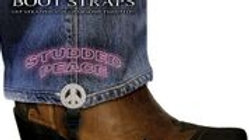 Boot Straps - Studded Peace