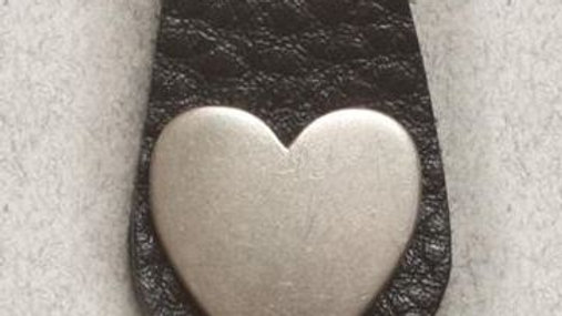 Boot Clips Solid Heart