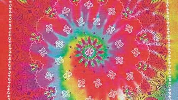 Bandana Paisley Tie Dye