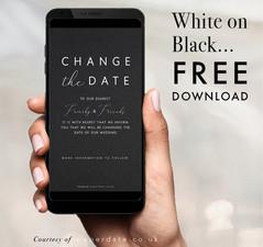 Kami - White on Black