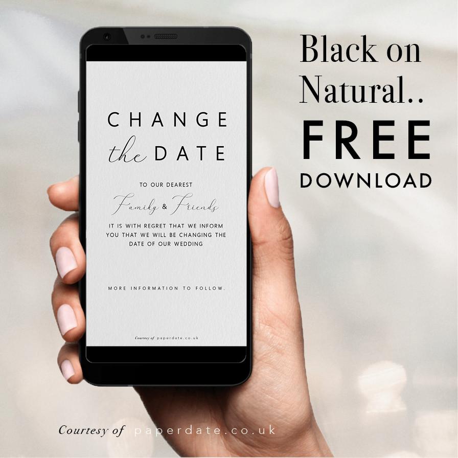 Kami - Black on Natural