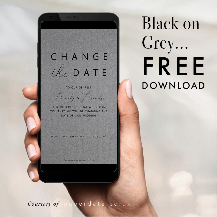 Kami - Black on Grey