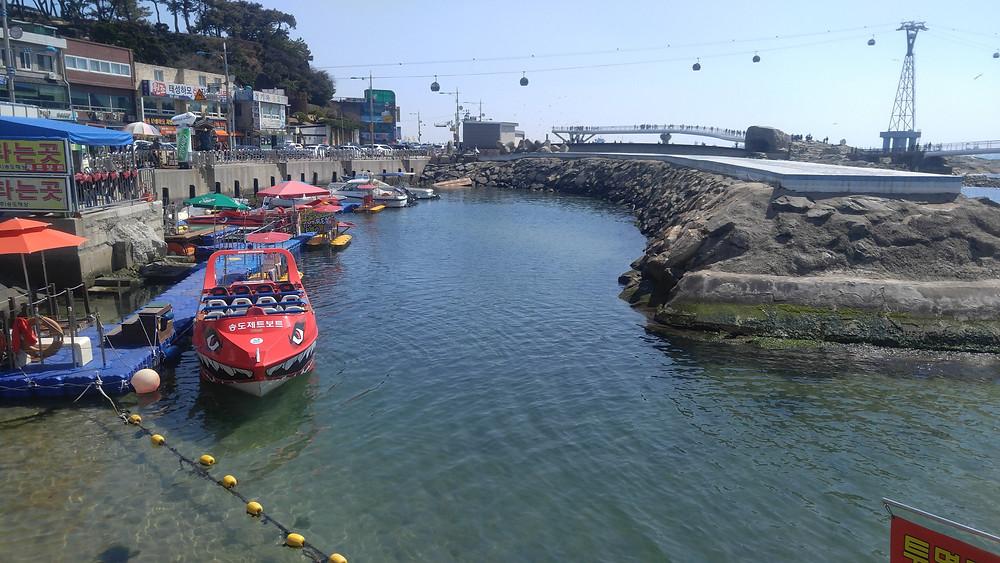 Songdo Beach, Busan, S. Korea