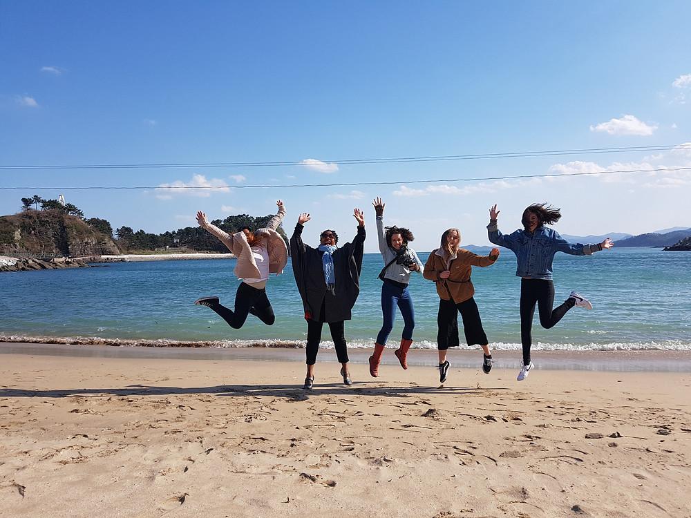 A Girl's Day at Namildae Beach
