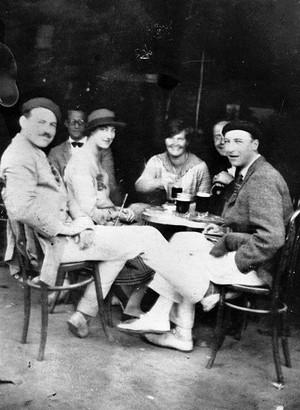 Hemingway and the gang