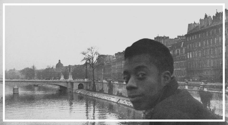 Jimmy Baldwin in Paris