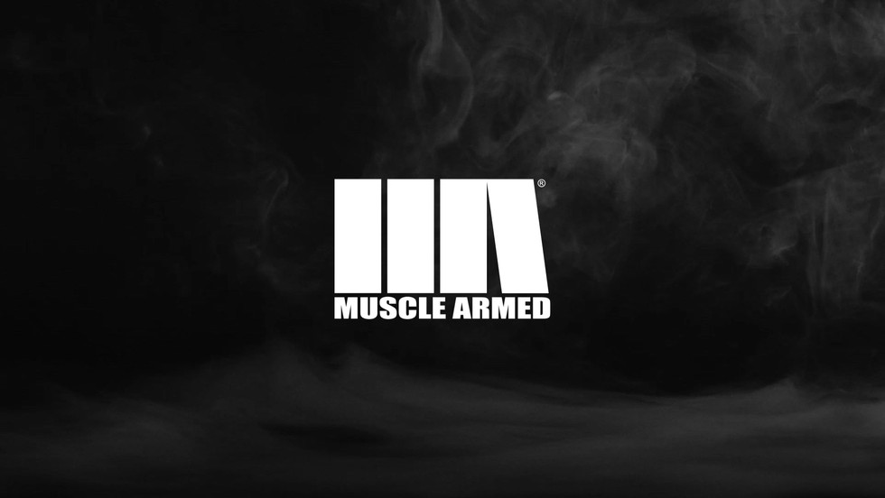 MUSCLE ARMED Logo INTRO