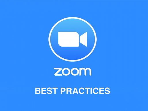 Zoom Security - Best Practices