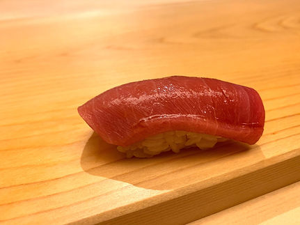Sushi Noz - served at our meal.