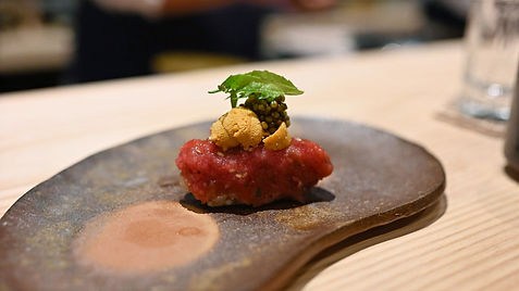 Kissaki Omakase - served at our meal.