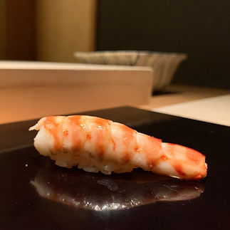 Uchu - served at our meal.