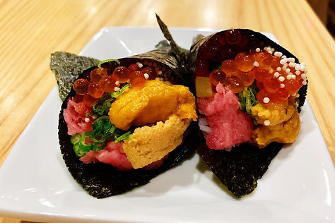 Sushi Ishikawa - served at our meal.