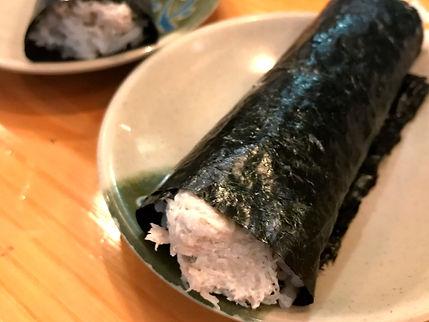 Sasabune - served at our meal.