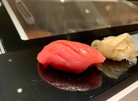 Sushi Ryusei - served at our meal.