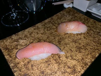 Sushi Nakazawa - served at our meal.