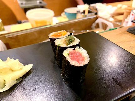 Tanoshi Sushi Sake Bar - served at our meal.