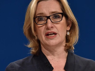 AMBER RUDD FACES NEW CHALLENGE
