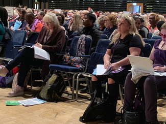 Unison's National Women's Conference support Backto60.com Campaign