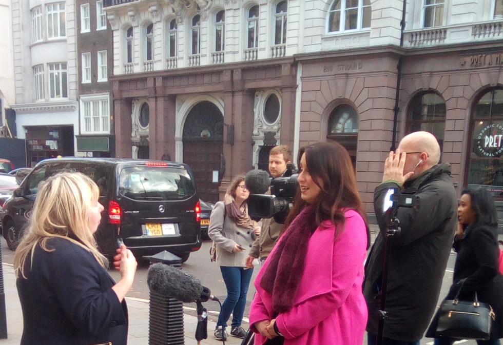 5 news filming backto60 women at the Roy