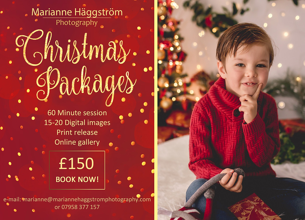 Marianne Haggstrom Photography - Child Portrait - Christmas Family Session - SW11 Battersea London