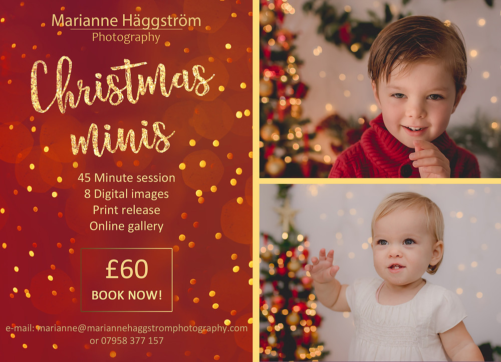 Marianne Haggstrom Photography - Child Portrait - Christmas Mini Session - SW11 Battersea London
